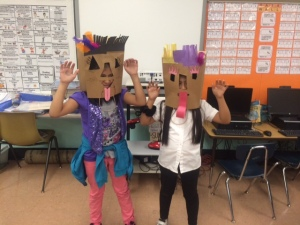 school 13 paper bag masks
