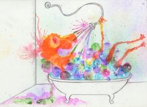 Creature-bathing