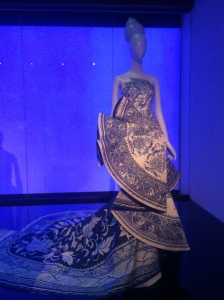 China pottery gown