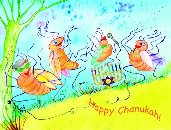 chanukah crickets