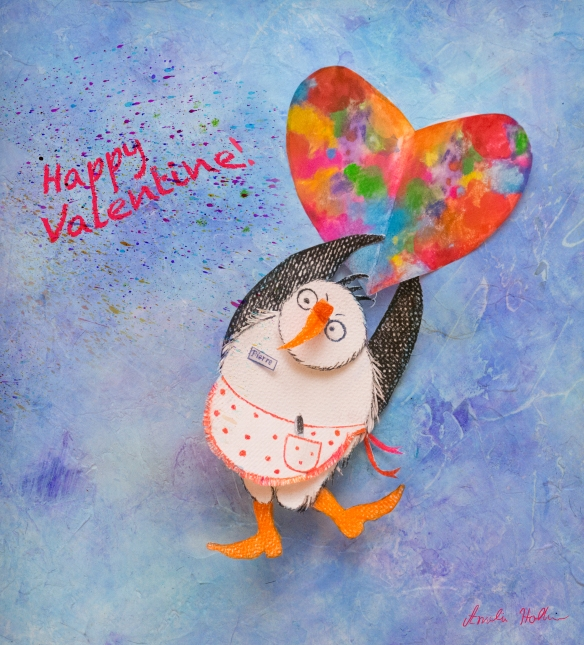 Valentine Penguin 2018