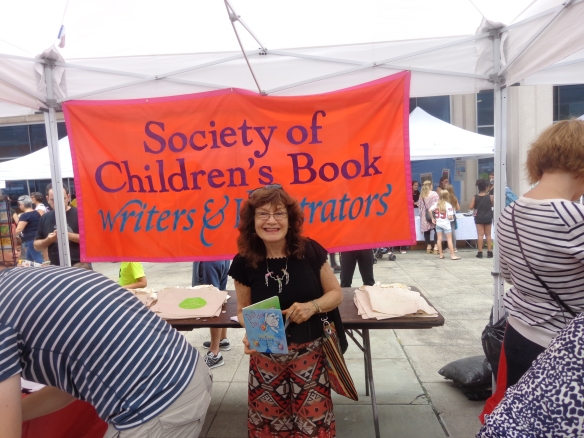 Brooklyn Book Festival at SCBWI booth