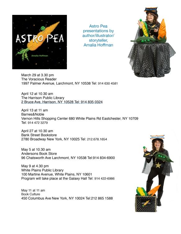 presentation schedule flyer