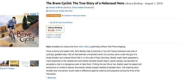 #1 in Holocaust children's books copy