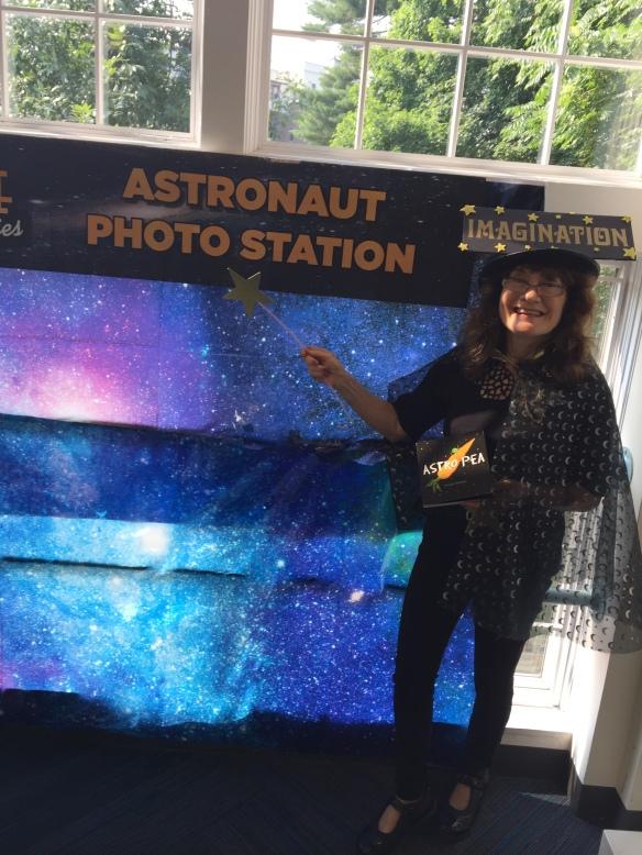 Larchmont library Adtronaut station