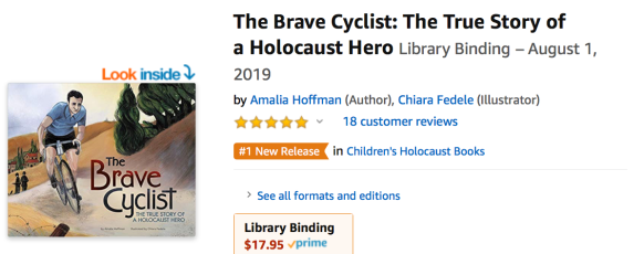 #1 in Holocaust books august 20 2019