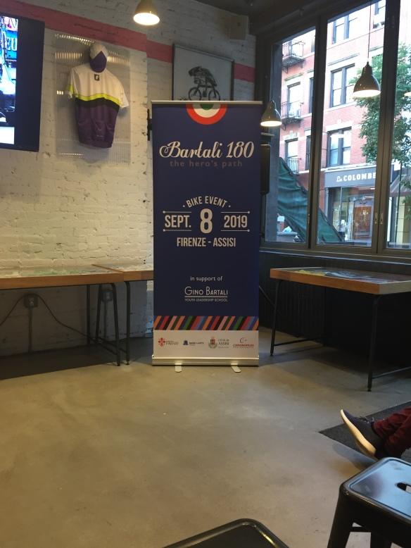 Rapha presentation banner