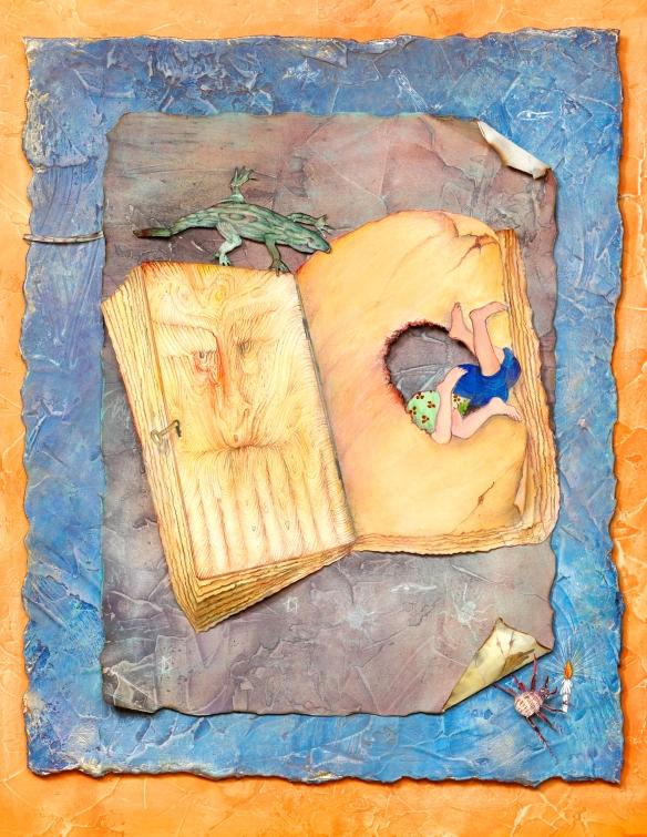 7 open book