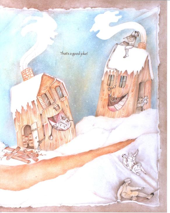 houses talking- Purim Goodies