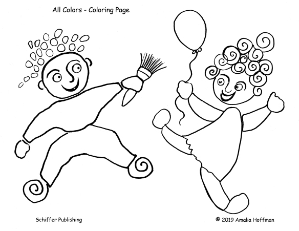 coloring page All Colors